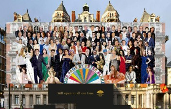Sir Peter Blake Recreates Sgt Pepper